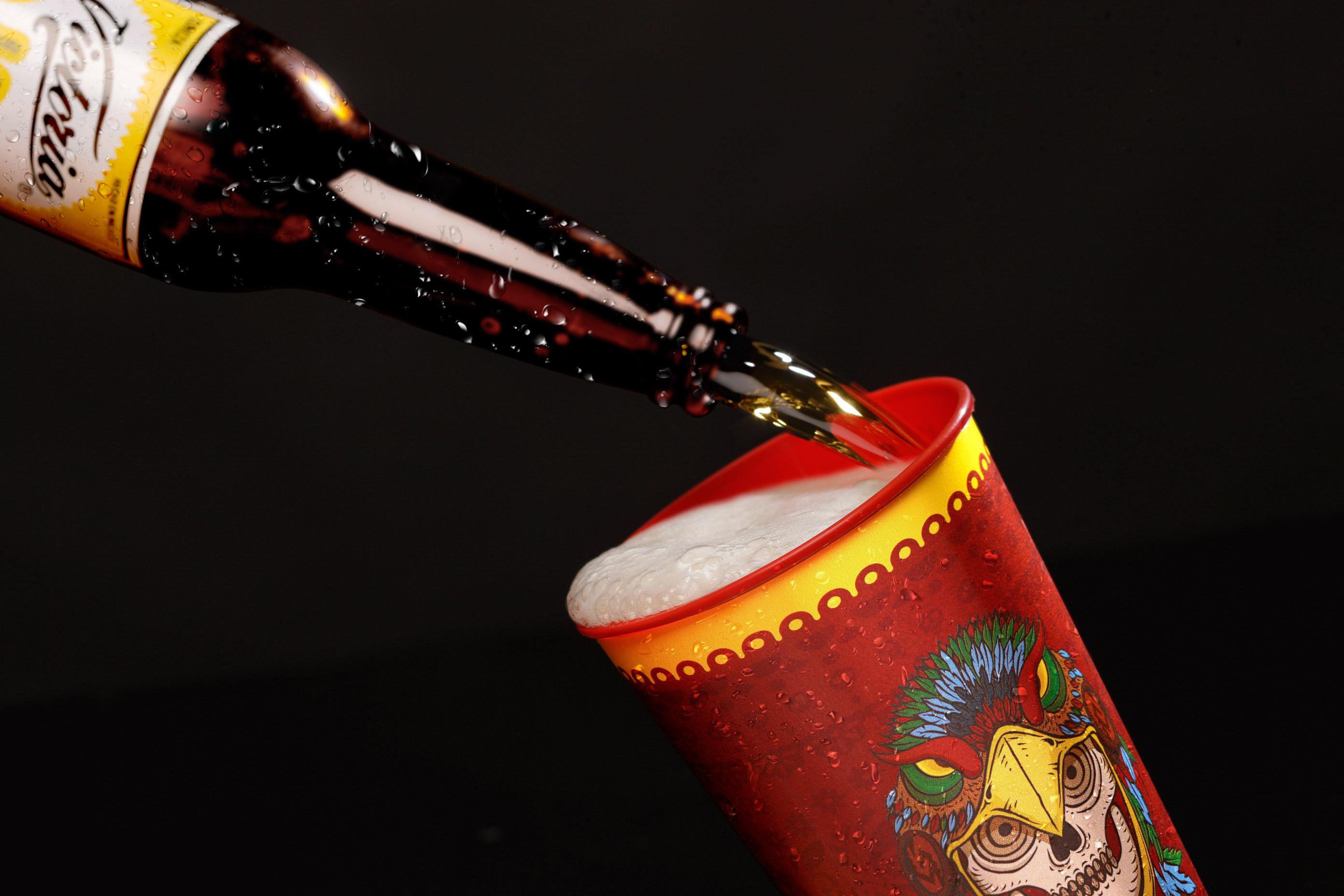 Sirviendo-Cerveza